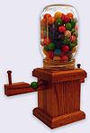 A small Gumball Machine / Jelly Bean Dispenser